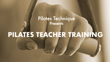 Pilates Teacher Training Online